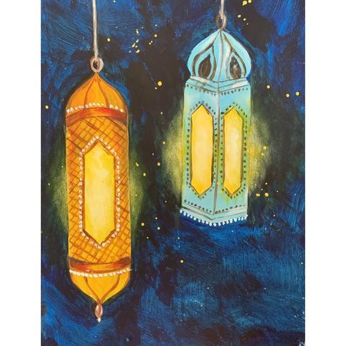 Virtual Artjam - Moroccan Lamps