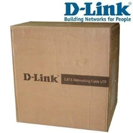 D-Link cat 6 305 meter roll