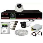 Full 2.4MP HD CCTV Camera set