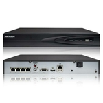 4Ch. NVR with Built-In 4 PoE Ports by Hikvision H.265 4K 8MP with 1 SATA Interfaces Network Video Recorder