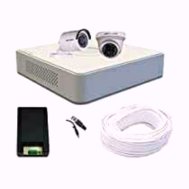 2 CCTV Camera Set with free Installation
