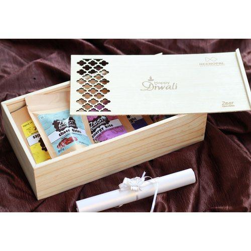 Zest Wooden Exquisite Box Hamper