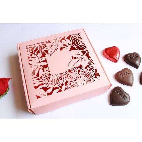 Valentines pink chocolate box 15choc pcs