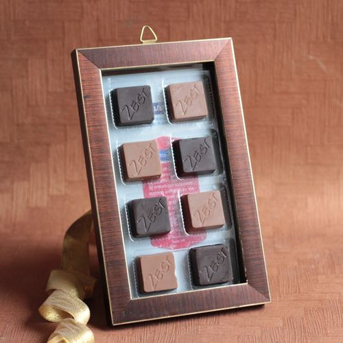 Zest Chocolate Photo frame Small