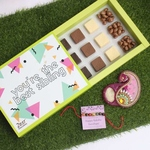 Chocolate Rakhi Combo - Zest Chocolates