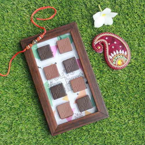 Chocolate Rakhi Combo