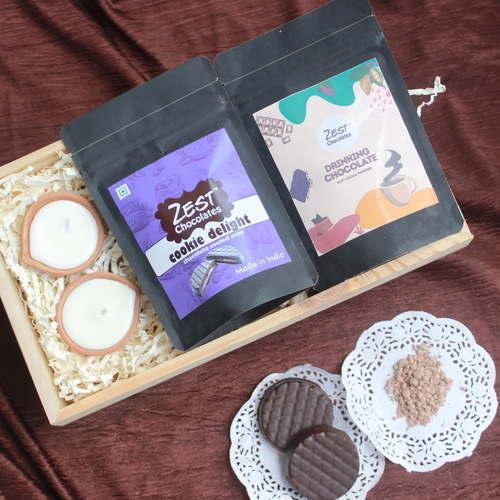 Glow Hamper Zest Chocolates Box - 1678