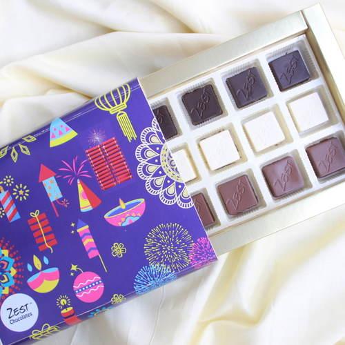 Zest Chocolates hampers in Mumbai Budget friendly Diwali GIfts