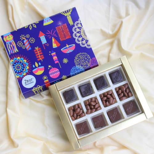 Zest Diwali Chocolates Box - 1643