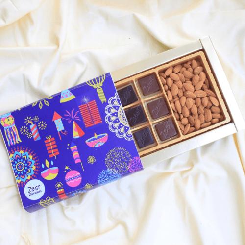 Zest Diwali  Chocolates Box  - 1660