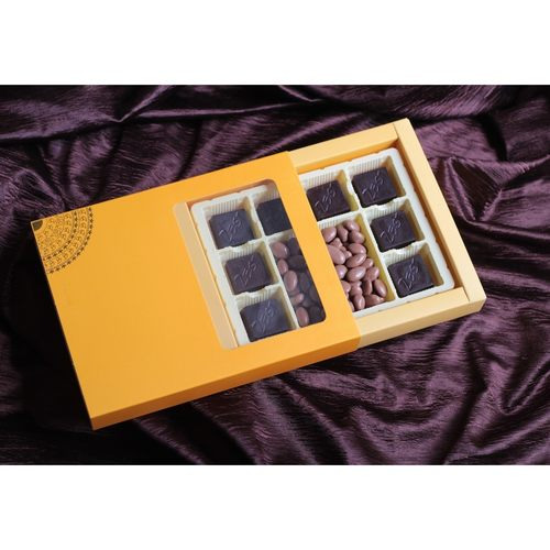Zest Chocolate Box Classic Orange Medium