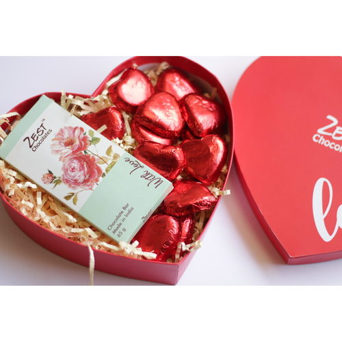 Zest Love - Hearts and Spalsh Bar