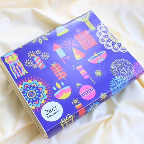 Zest Diwali Box Blue - 1661
