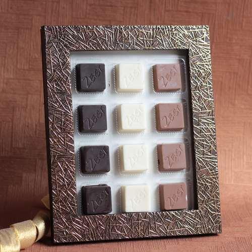 Zest Chocolate Photo frame Medium