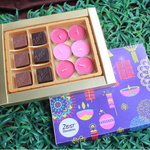 Diwali Chocolate and Candles Zest Box  - 1671