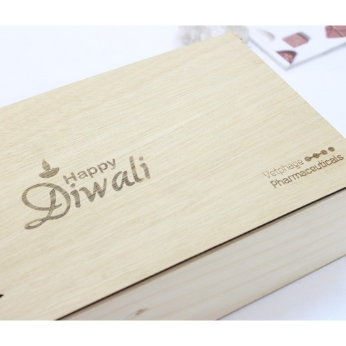 Zest Diwali Wooden Box Exquisite