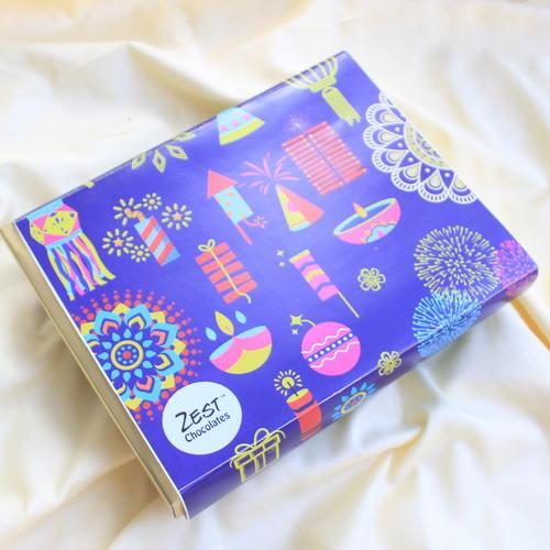 Diwali Chocolate and Candles Box  - 1671