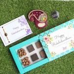 Chocolates Rakhi Kumkumbox Combo
