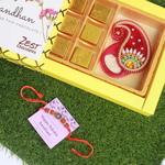 Chocolates Rakhi Combo - Zest Chocolates