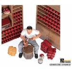 Clog Maker and Store Figurine Set