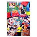 Heritage Postcard Majie in Chinatown by Patrick Yee