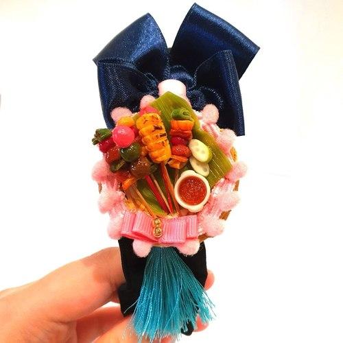 Handmade Hairband: Satay by Madam Ang Miniature World