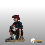 Samsui Woman Eating Figurine