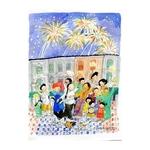 Heritage Postcard Racial Harmony by Patrick Yee