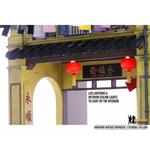 Singapore Heritage Shophouse Model - Yellow