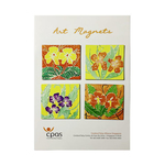 Art Magnet Set 4 by CPAS GROW Artists Set of 4
