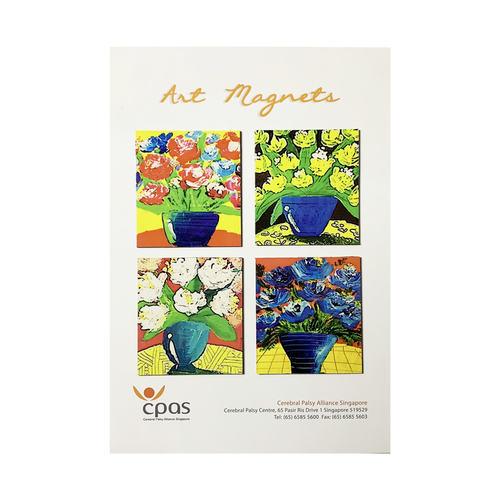 Art Magnet Set 2 by CPAS GROW Artists Set of 4