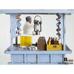 Ice Ball Seller and Stall Figurine