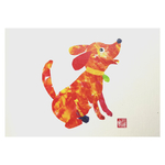 Zodiac Postcard Dog by Patrick Yee