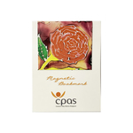Magnetic Bookmark Red Rose by CPAS GROW Artists