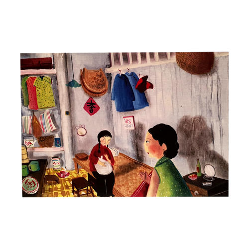 Heritage Postcard Living Cubicles by Patrick Yee