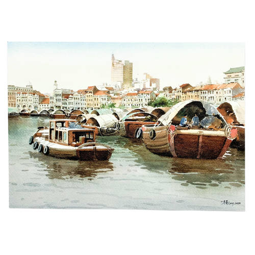 Heritage Postcard Set Set of 4