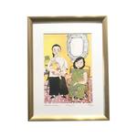 Heritage Framed Print: Majie by Patrick Yee