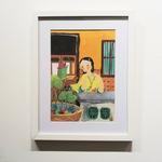 Original Heritage Painting: Peranakan Lady by Patrick Yee