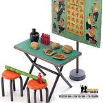 Medicine Man  Koh Yok Seller with Stall Figurine Set