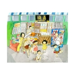 Heritage Print: Old School Provision Shop by Patrick Yee