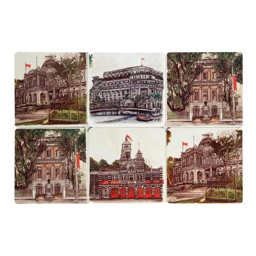 SOS 3 National Monuments Series Reg Coasters