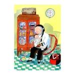 Heritage Postcard Majie & Child by Patrick Yee