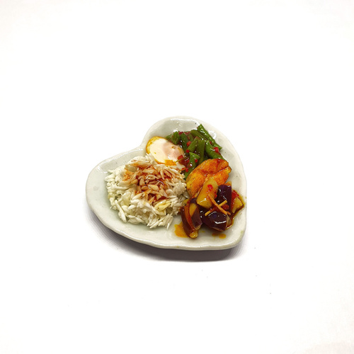 Mixed Vegetable Rice Miniature