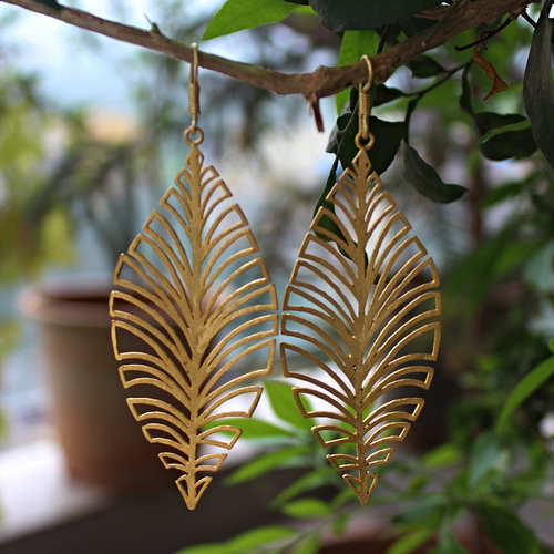 DECO LEAVES HOOPS