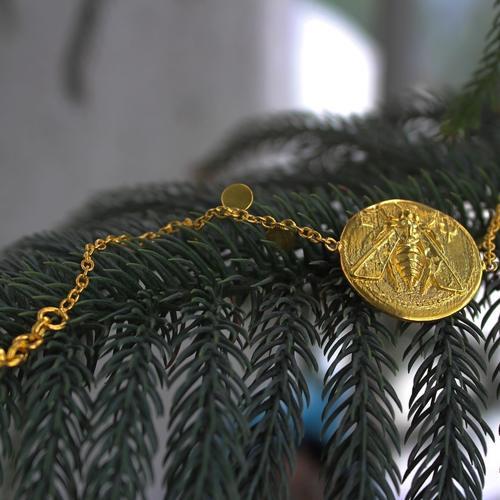 Bee Chain Bracelet
