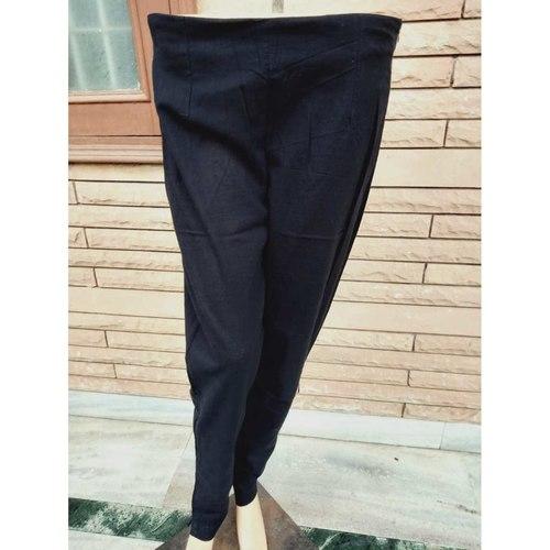 Cotton black Pants set of 4 sizes