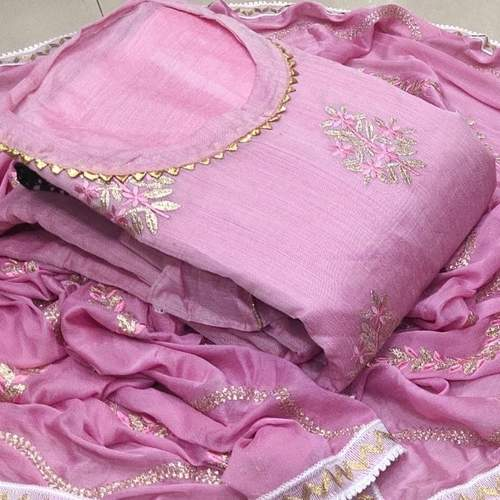 SL Fashion Pure Modwal Chanderi Silk