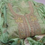 SL Fashion Chanderi Dress Material