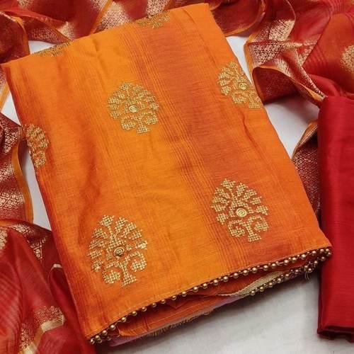 SL Fashion Banarsi Dress Material