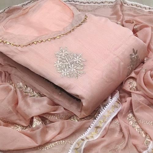 SL Fashion Pure Modwal Chanderi Silk